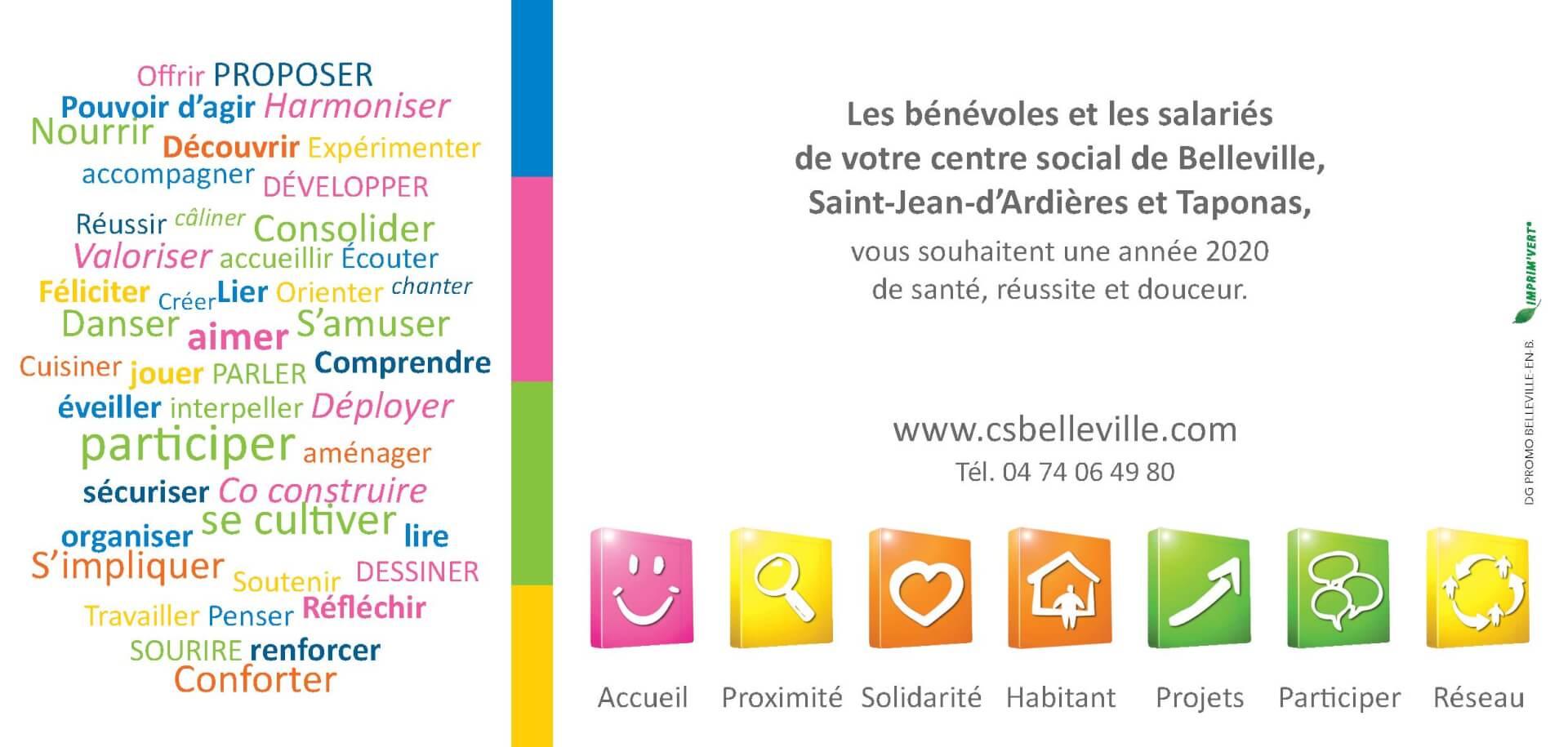 Centre Social - carte voeux 2020_2