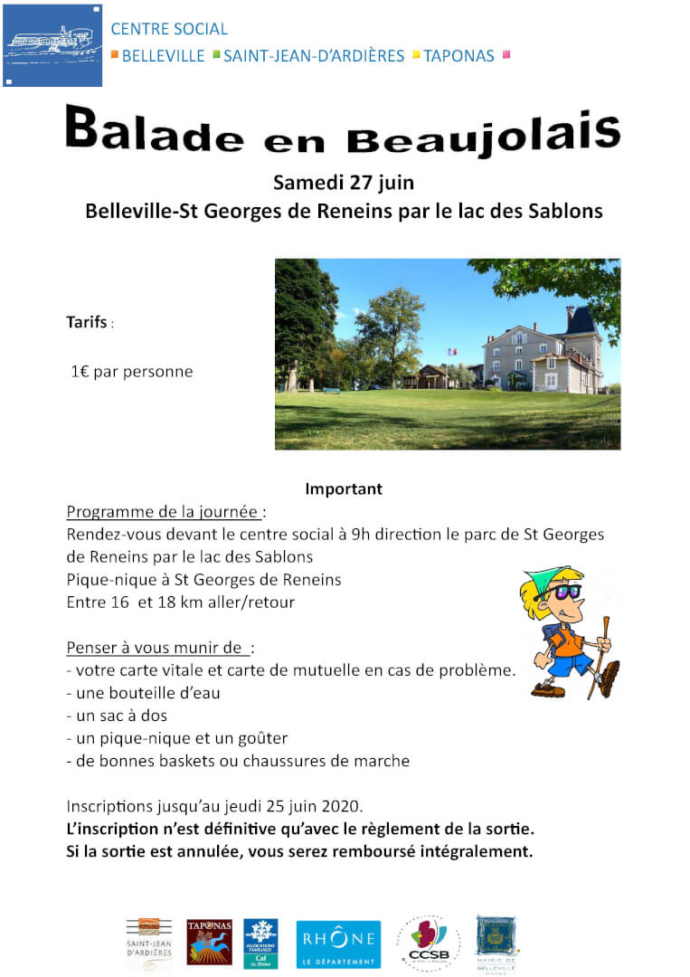 Balade 27 06 2020 Belleville-St Georges de Reneins.pub