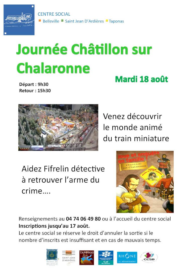 Affiche Châtillon sur Chalaronne (003)