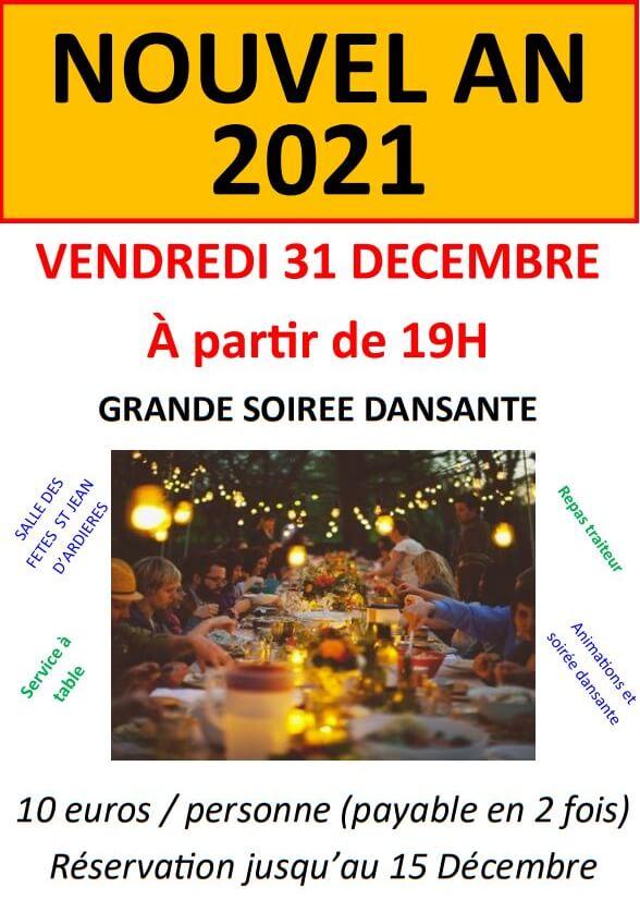 Affiche Nouvel An Solidaire 2021